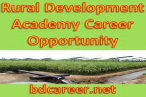 Rural Development Academy Career Opportunity