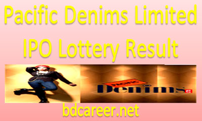 Pacific Denims Limited IPO Lottery Result
