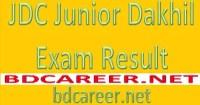JDC Junior Dakhil Exam Result