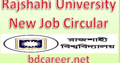 Rajshahi University Job
