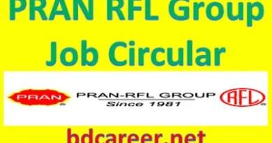 PRAN RFL Job Circular