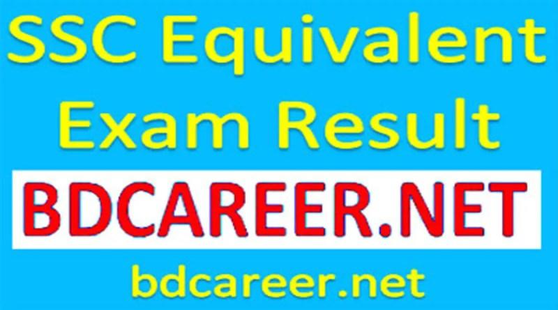 SSC Equivalent Exam Result 2020