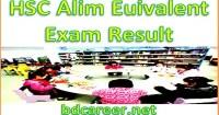 HSC Alim Exam Result