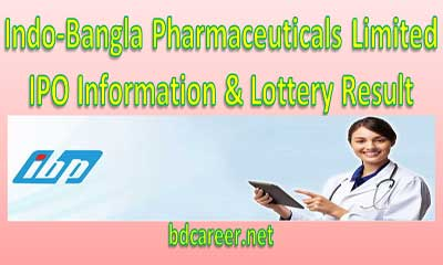 Indo Bangla Pharmaceuticals Lottery Result