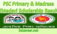 PSC Primary Madrasa Ebtedayi Scholarship Result