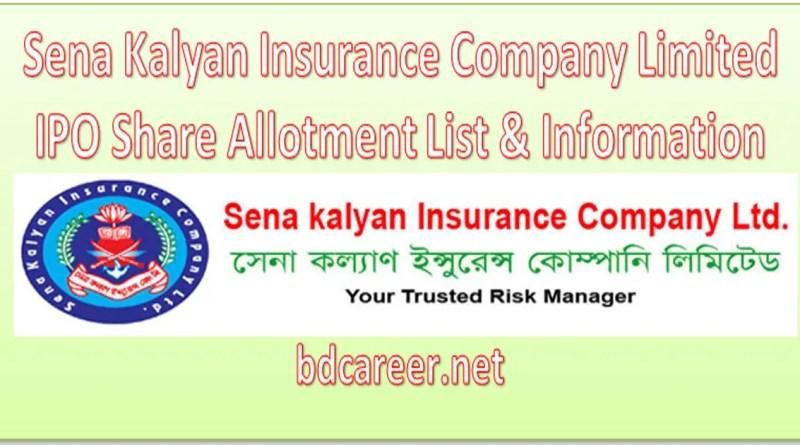 Sena Kalyan Insurance Company Limited IPO Share Allotment List & Information