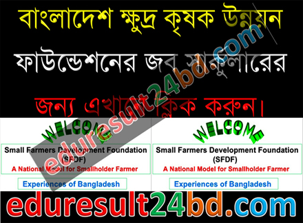 Small Farmers Development Foundation (SFDF) Job Circular
