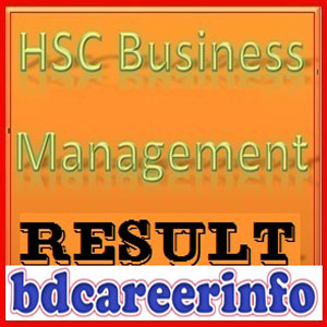 HSC Business Management Result 2017