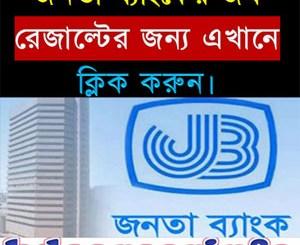Janata Bank MCQ Written Viva Result 2017