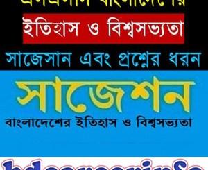 SSC History Bangladesh World Civilization Suggestion 2018