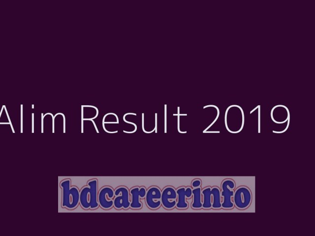 Alim Result 2019 Madrasah Board