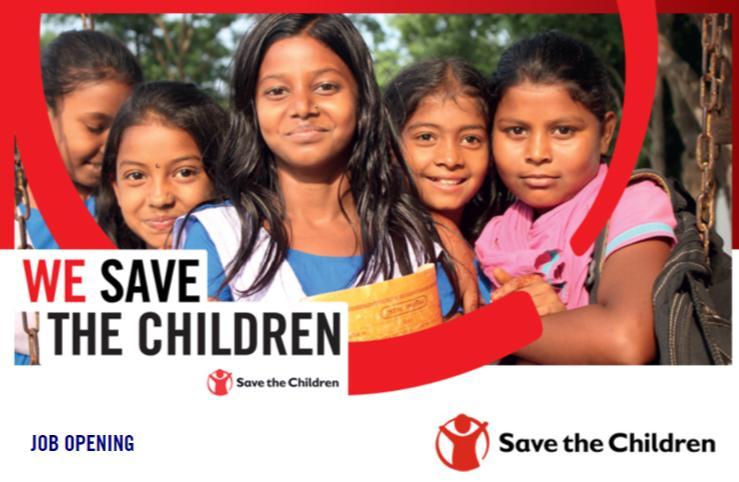 Save The Children NGO Job Circular 2018