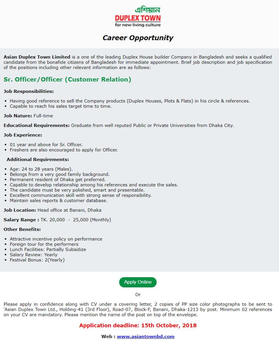 ADTL Job Circular Online