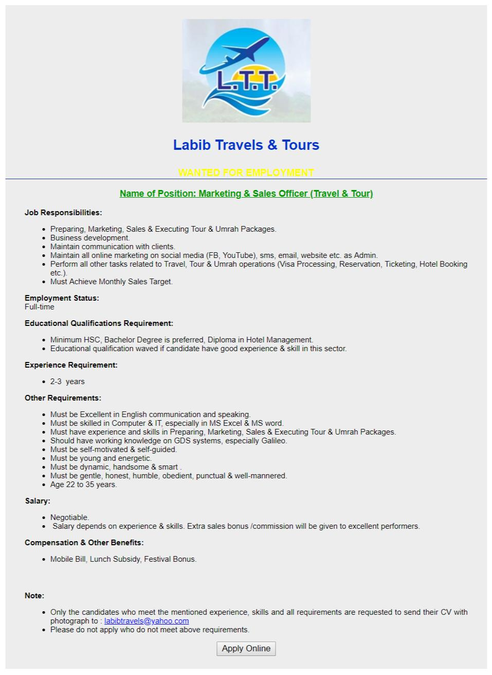 Labib Travels & Tours