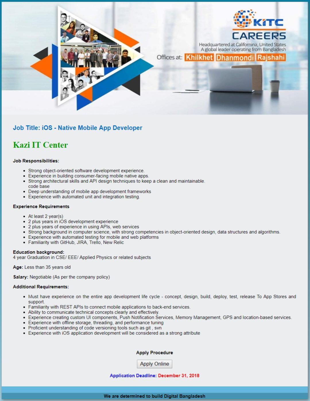 Kazi IT Center Ltd