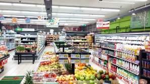 Electricité et éclairage des commerces à Montpellier :Electricité supermarché à Montpellier