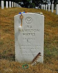 Ira Hayes, Arlington National Cemetary