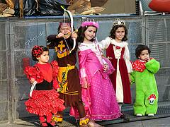 Cute Kids in Children's Costumes