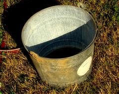 Rusty Old Bucket by Erlomo on Flickr