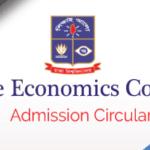 Home Economics Admission Circular