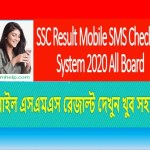 SSC Result Mobile SMS Checking System 2020 All Board
