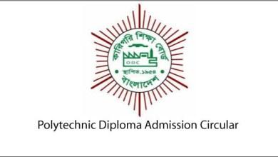 Polytechnic Diploma Admission Circular
