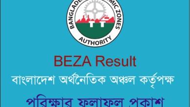 BEZA Result