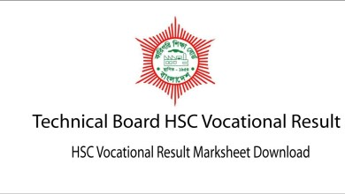 HSC Vocational Result