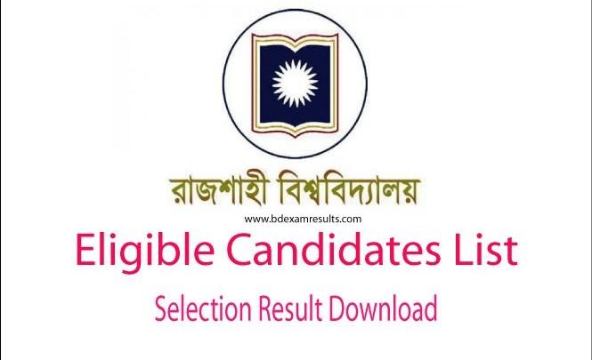 RU Eligible Candidates List