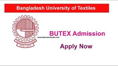 BUTEX Apply Online Process