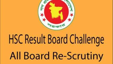 HSC Board Challenge Result