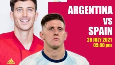 Argentina vs Spain