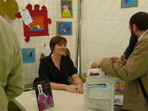 Lisa Mandel, la présidente du Festival