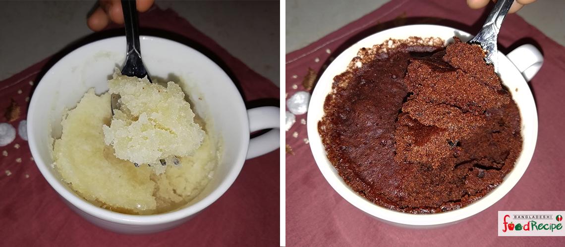 2 Minute Microwave Cupcake