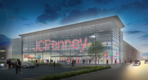 JC Penney - Exterior Rendering