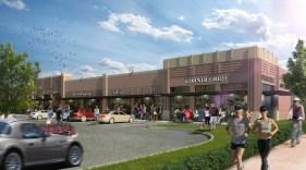 Art Deco Style Shopping Center
