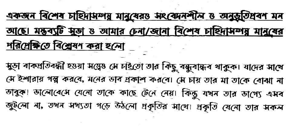 Class 10 assignment 2021 1st week bangla answer