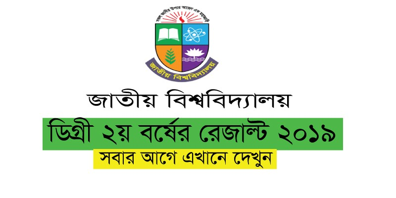 Degree 2nd year result 2091