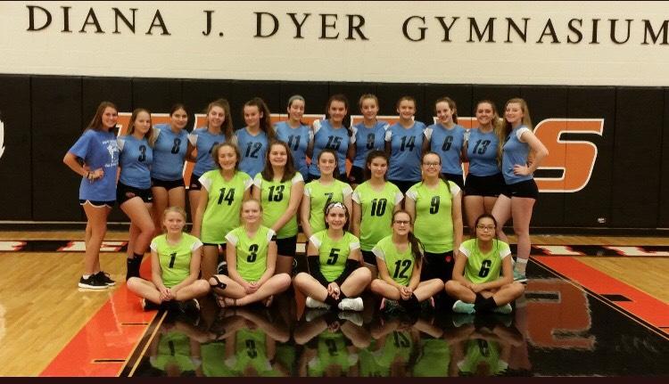 Brentsville+volleyball+wears+Trevor%27s+favorite+colors