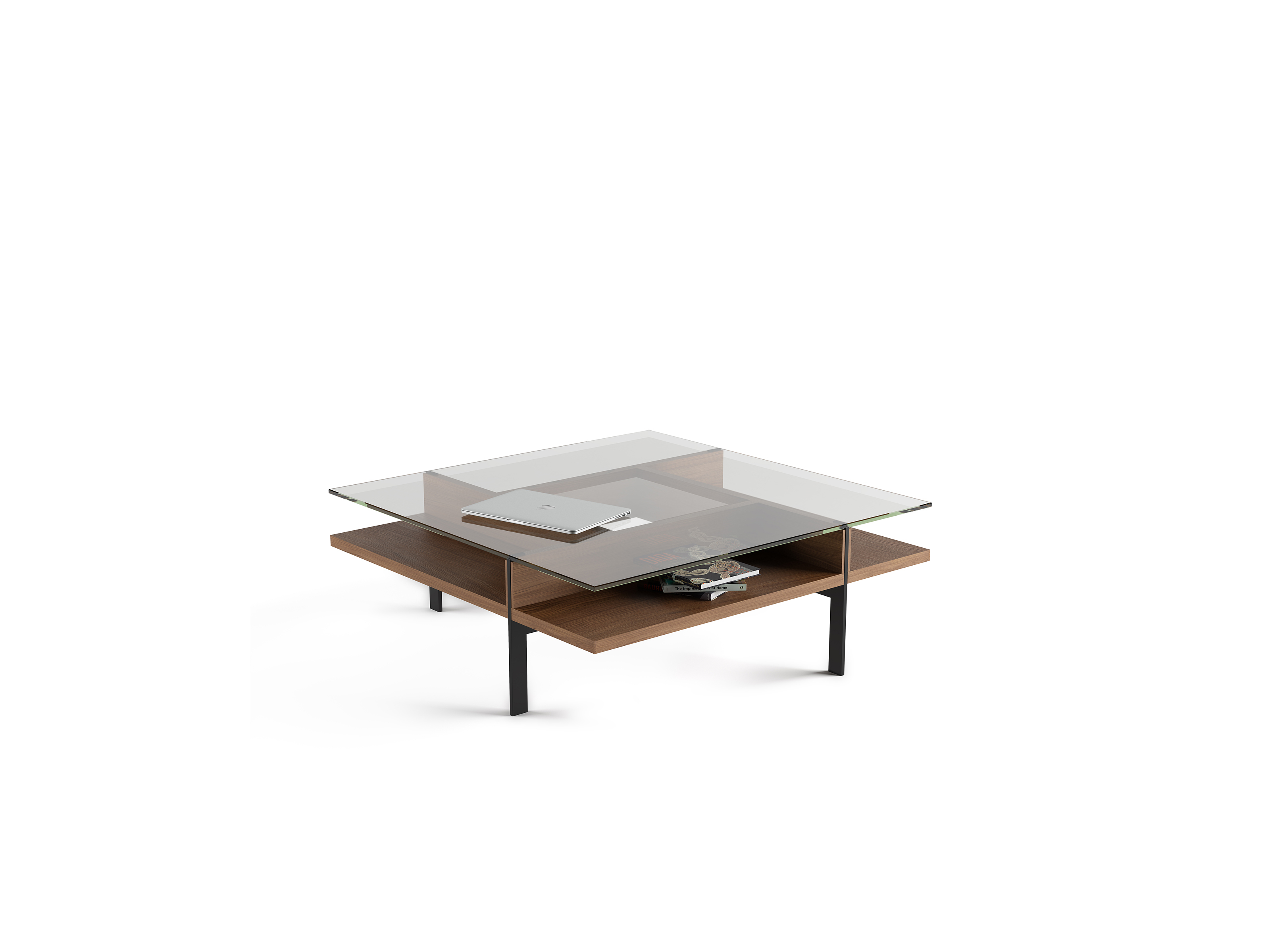 terrace 1150 modern square glass coffee