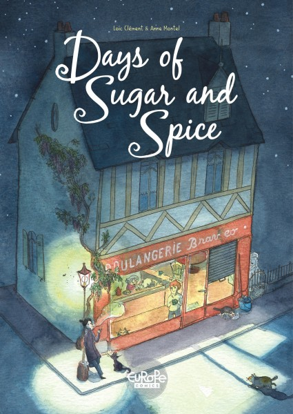 Days of Sugar and Spice - Europe Comics