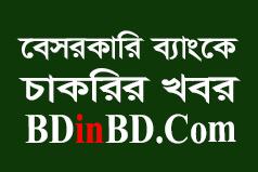 This image is about বেসরকারি ব্যাংক নিয়োগ বিজ্ঞপ্তি ২০২১