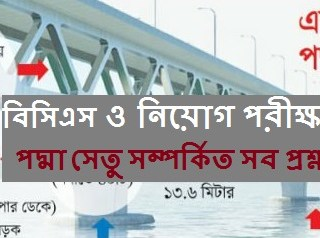Padma Bridge Full MCQ Preparation, padma bridge project details, padma bridge design, padma multipurpose bridge project information, padma bridge length in km, padma bridge progress, padma bridge paragraph,padma bridge cost, padma bridge piling,