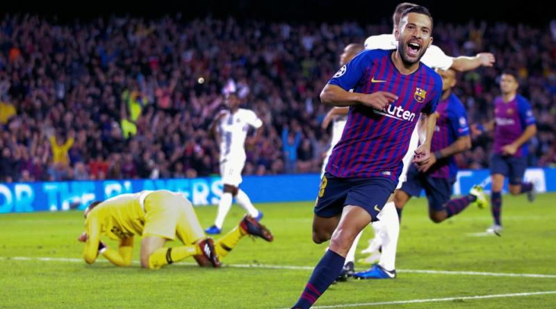 Jordi Alba placed the final 2-0