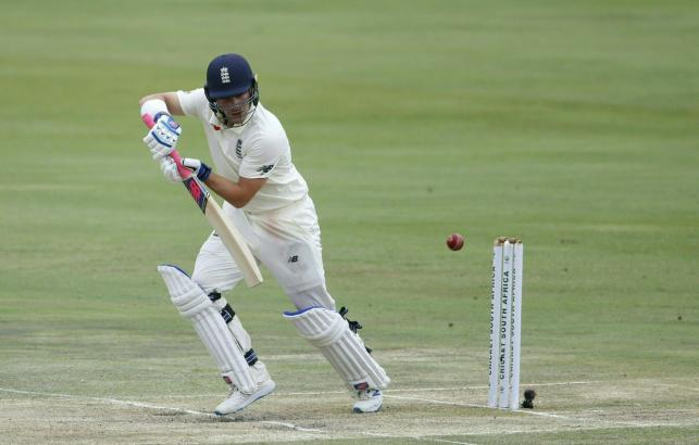 England`s Rory Burns watches the ball after playing a shot during the third day of the first Test cricket match between South Africa and England at The SuperSport Park stadium at Centurion near Pretoria on 28 December, 2019. Photo: AFP