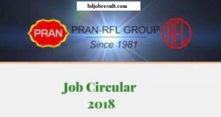 PRAN RFL Group Job Circular