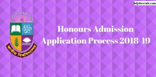 National University Honours Admission Application Process