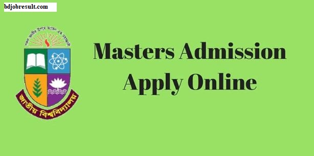 National University Masters Admission Apply Online
