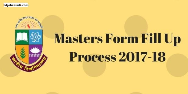 National University Masters Form Fill Process