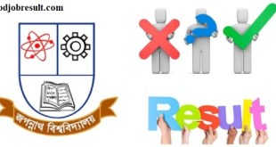 Jagannath University Admission ResultJagannath University Admission Result